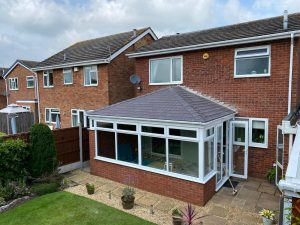 quote for a tiled conservatory roof