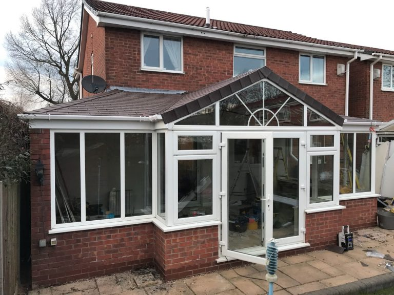 fantastic tiled roof conversion on a conservatory